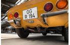 Opel GT, Heckleuchte, Auspuff