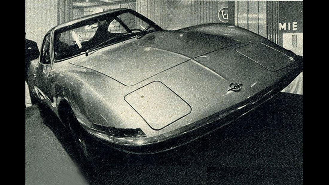 Opel, GT, IAA 1965