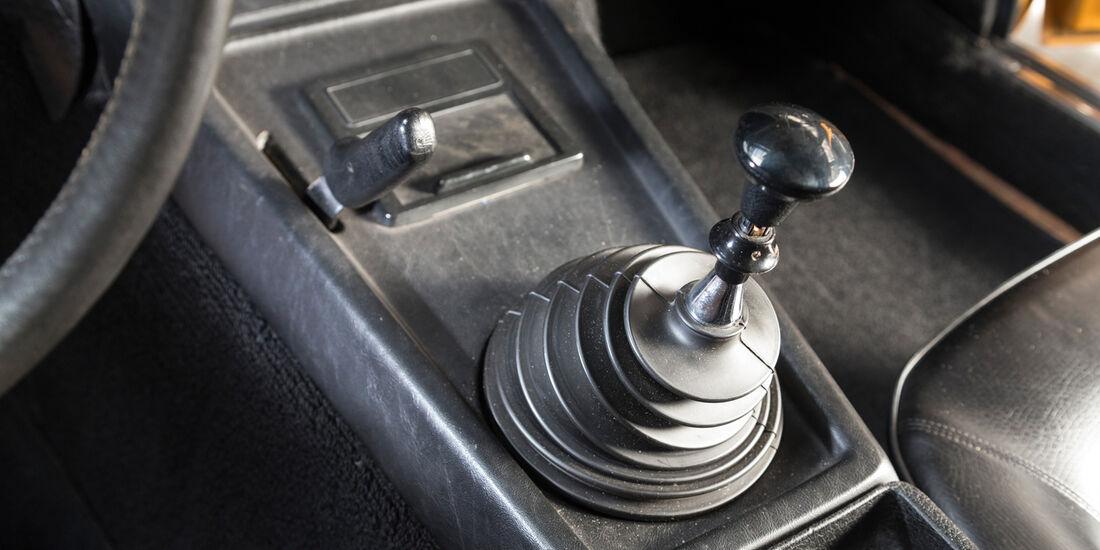 Opel GT, Schalthebel