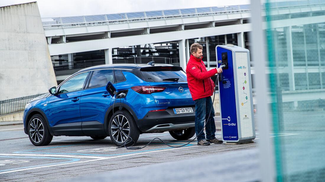 Opel Grandland X Hybrid 4 Business Innovation, Exterieur