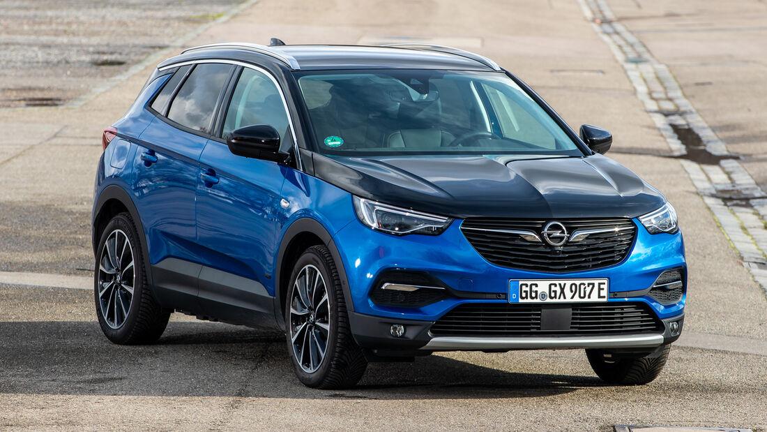 Opel Grandland X Hybrid4, Exterieur