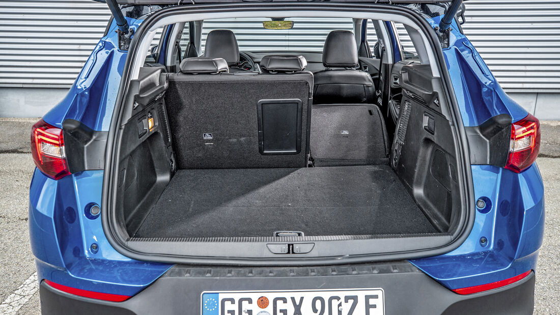 Opel Grandland X Hybrid4, Interieur
