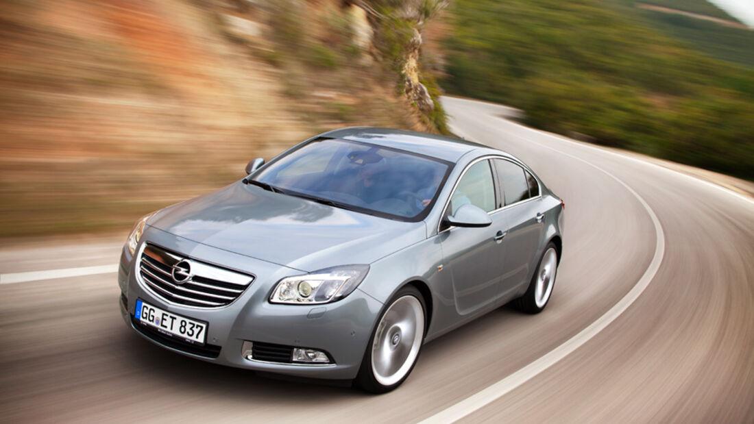 Opel Insignia 2.0 CDTi Biturbo Edition, Frontansicht