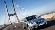 Opel Insignia 2.0 CDTi Biturbo Edition, Frontansicht, Brücke
