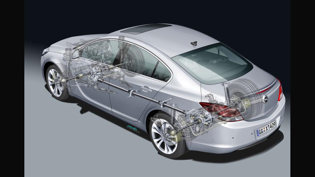 Opel Insignia 2.0 CDTi Biturbo Edition, Grafik, Antrieb