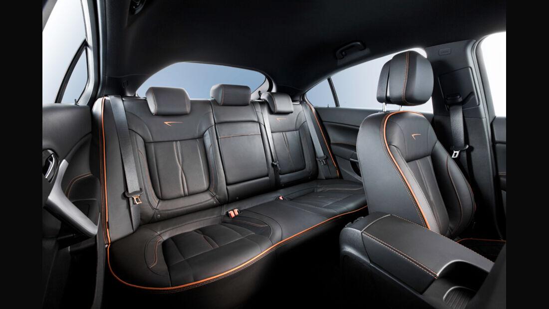 Opel Insignia 2.0 CDTi Biturbo Edition, Rücksitze, Rückbank