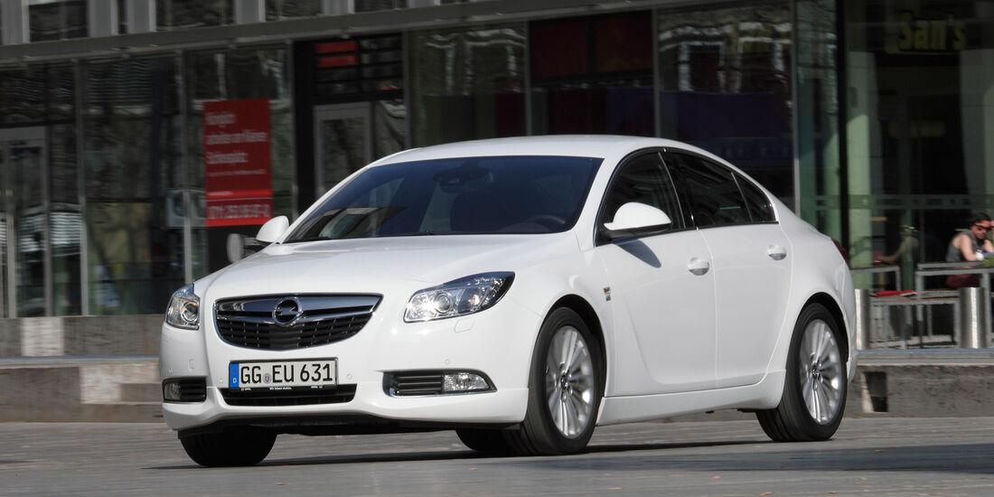 Opel Insignia 2.0 CDTi Biturbo Sport, Frontansicht