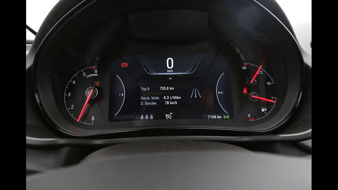 Opel Insignia 2.0 CDTi, Rundinstrumente