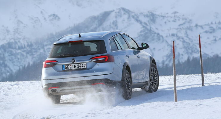 Opel Insignia Country Tourer 2.0 CDTI, Heckansicht