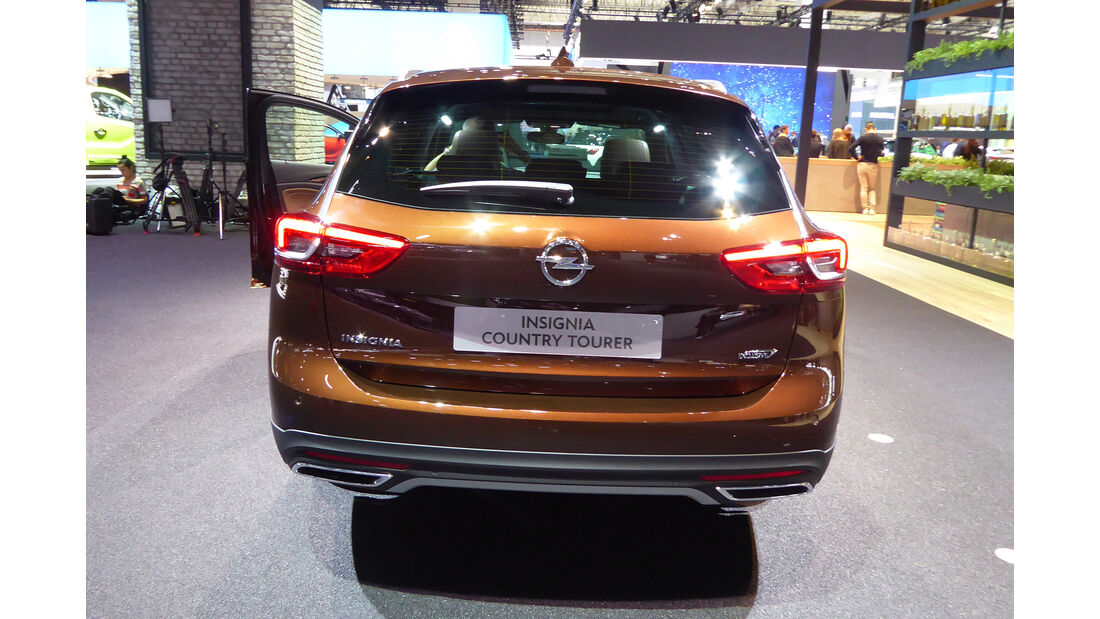 Opel Insignia Country Tourer - Auspuff - IAA Frankfurt 2017