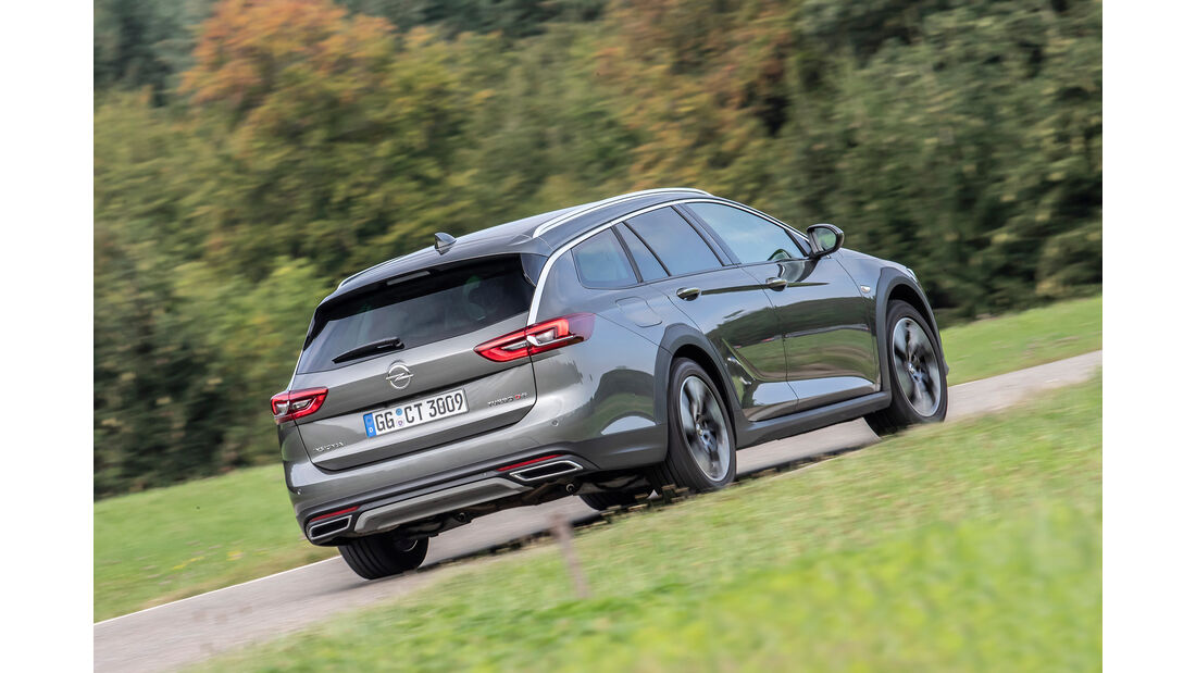 Opel Insignia Country Tourer, Exterieur