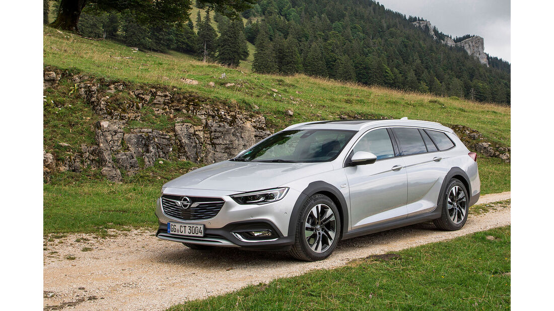 Opel Insignia Country Tourer Fahrbericht