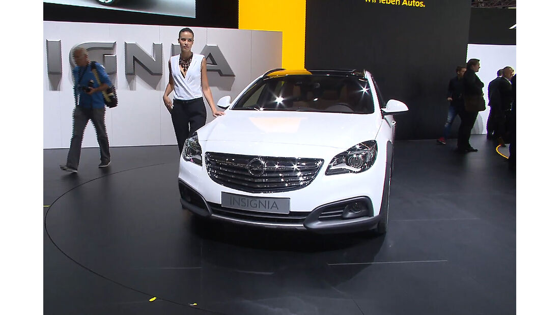 Opel Insignia Country Tourer, IAA
