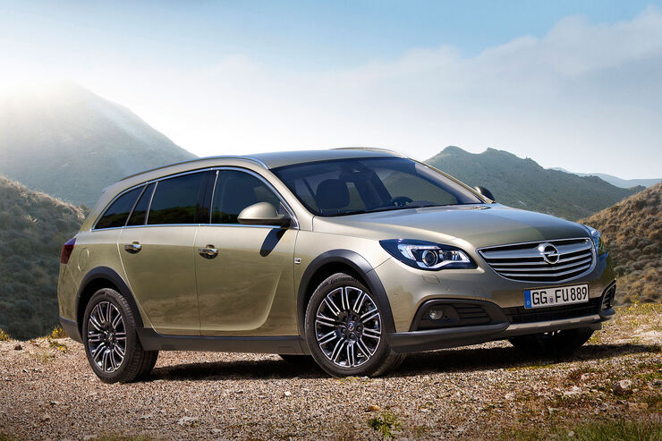 Opel Insignia Country Tourer Sperrfrist 3.7.2013 10.00 Uhr