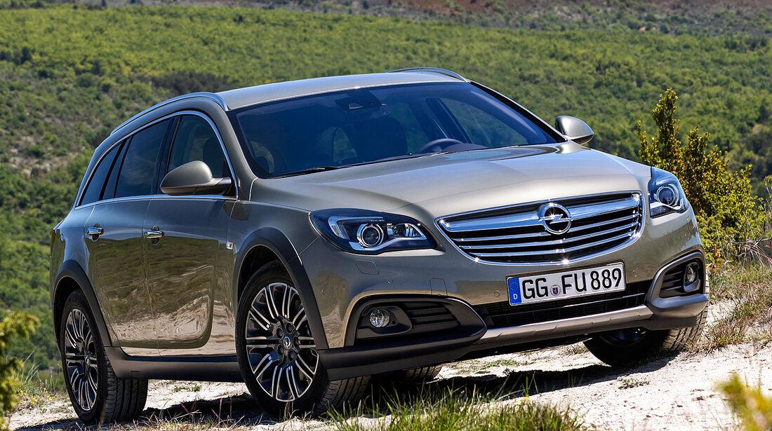 Opel Insignia Country Tourer Sperrfrist 3.7.2013 10.00 Uhr