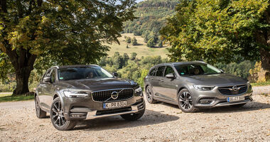 Opel Insignia Country Tourer, Volvo V90 Cross Country, Exterieur