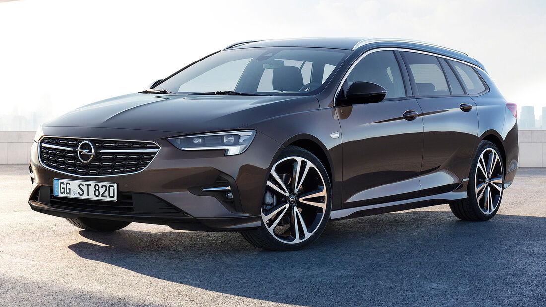 Opel Insignia 2020: neue Technik für den Mittelklasse-Opel ...