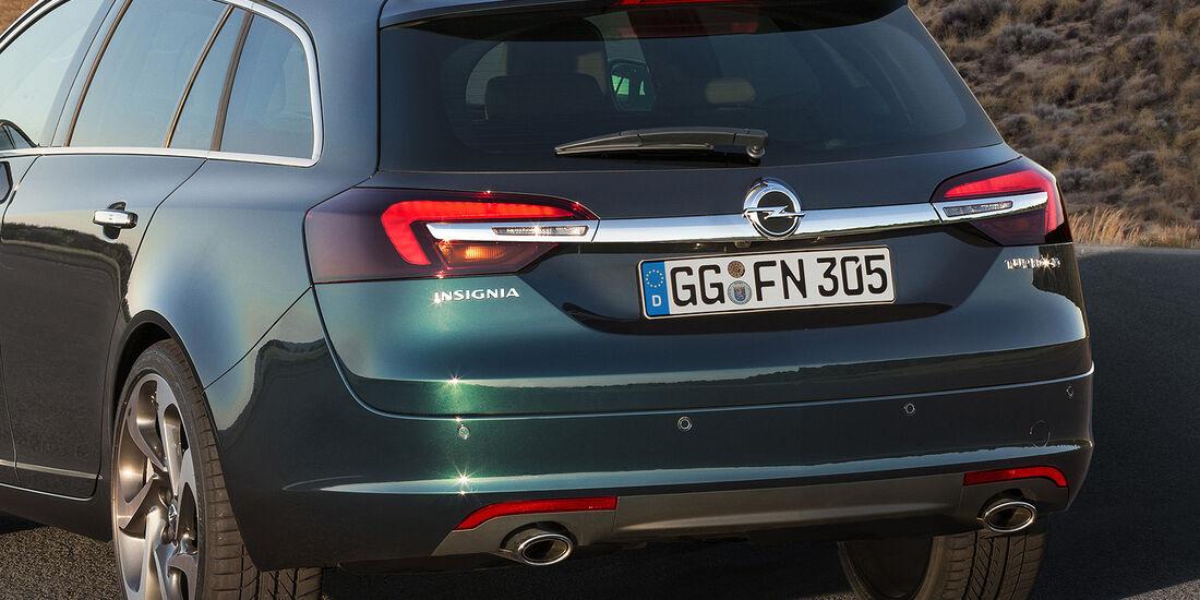 Opel Insignia Facelift, IAA 2013, Heck Sports Tourer