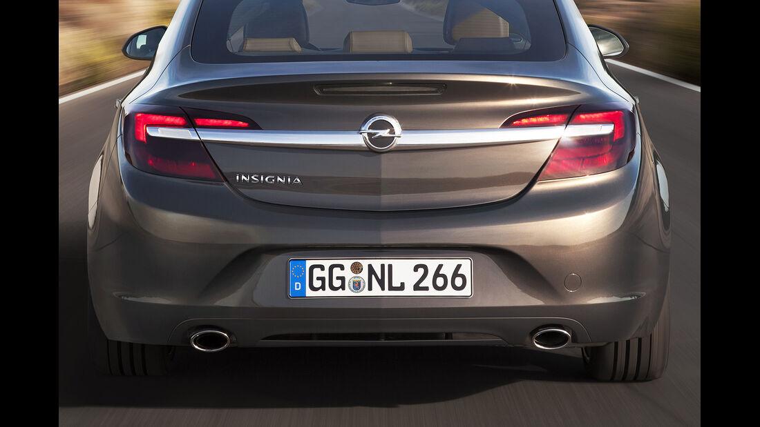 Opel Insignia Facelift, IAA 2013, Heckschürze
