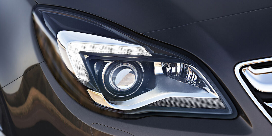 Opel Insignia Facelift, IAA 2013, Scheinwerfer