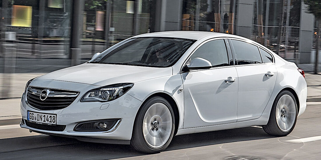 Opel Insignia Facelift, Seitenansicht