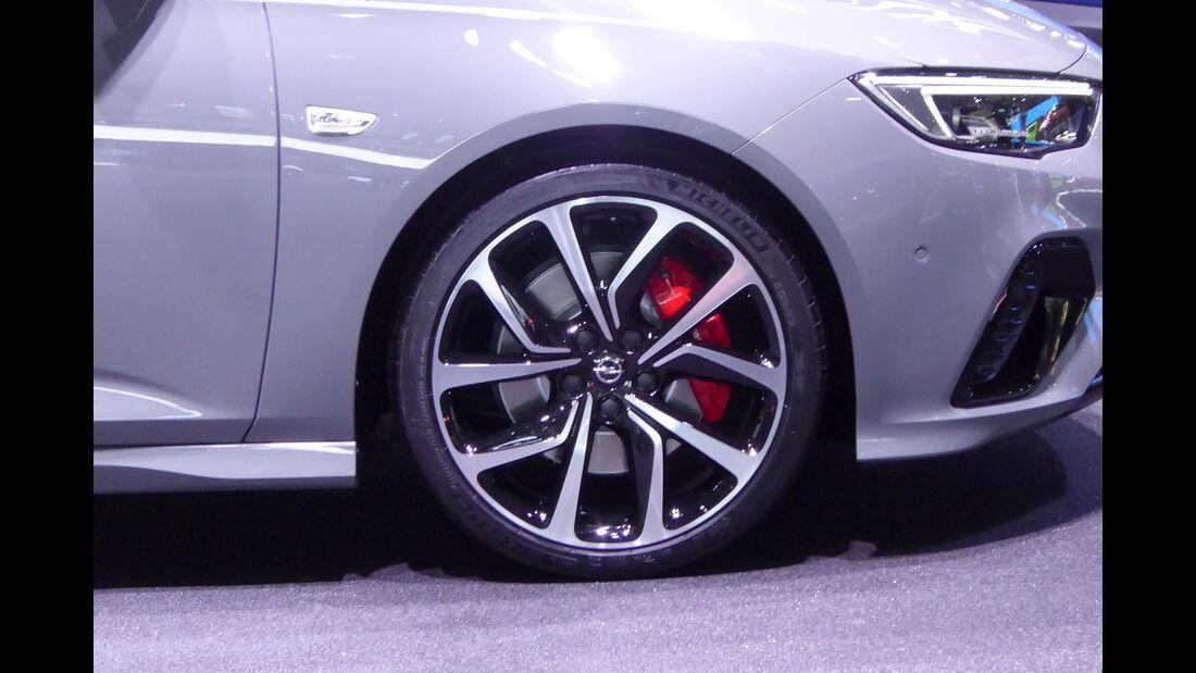 Opel Insignia - Felgen - IAA 2017