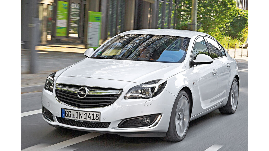 Opel Insignia, Frontansicht