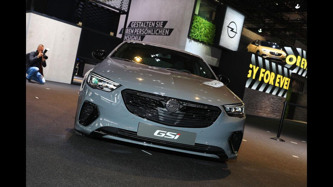 Opel Insignia GSI Sitzprobe Gregor Hebermehl