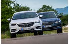 Opel Insignia Grand Sport 2.0 D Business Innovation, Skoda Superb 2.0 TDI Style, Front