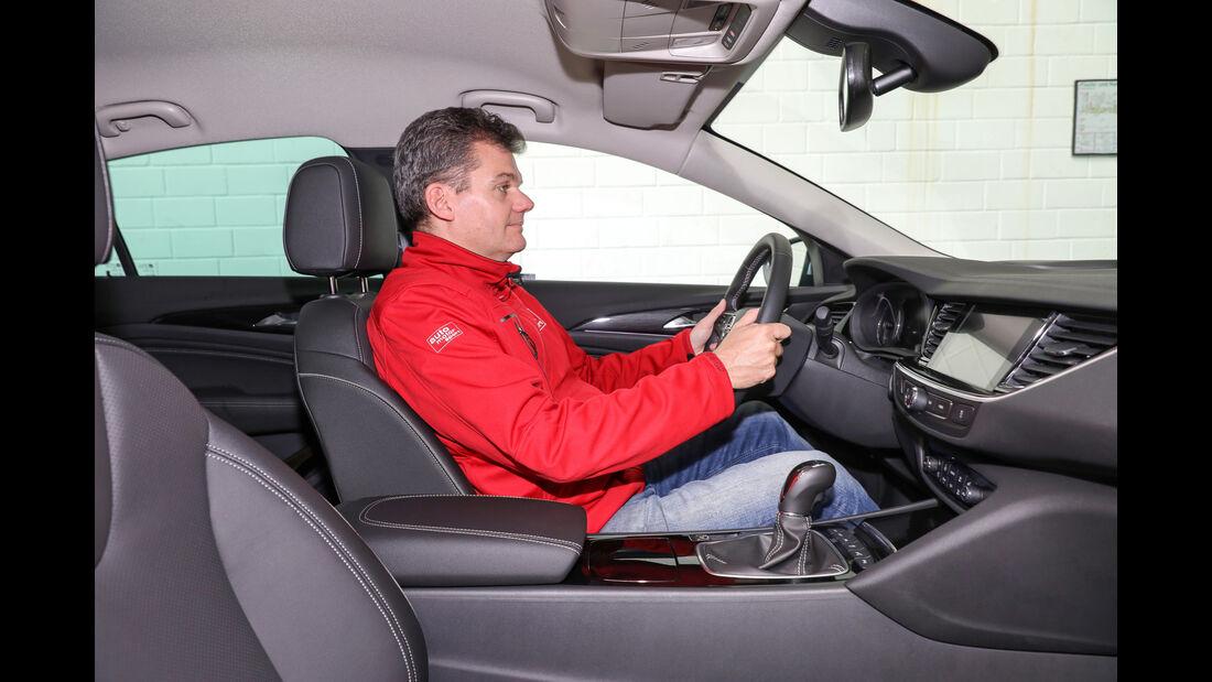Opel Insignia Grand Sport, Fahrersitz