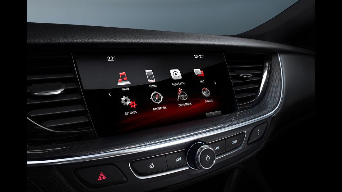 Opel Insignia Grand Sport, Infotainment