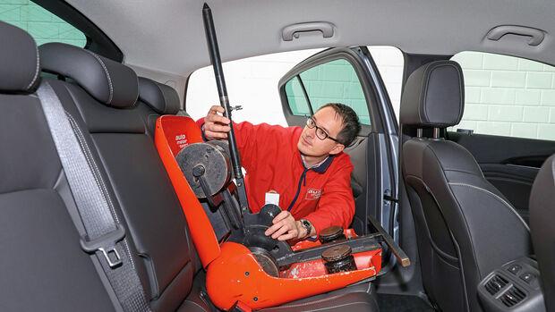 Opel Insignia Grand Sport, Innenraumgröße