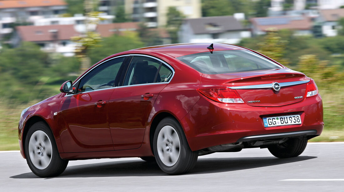 Opel Insignia, Heckansicht