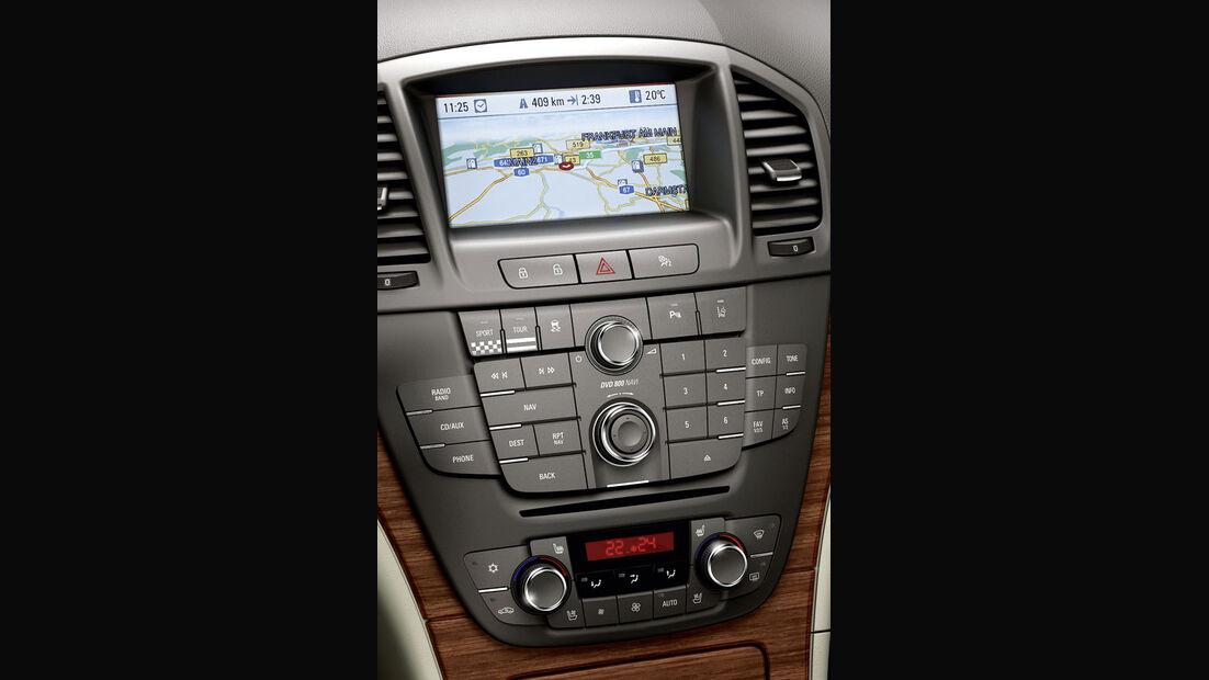 Opel Insignia Kaufberatung, Navigationssystem, Europa-Navi