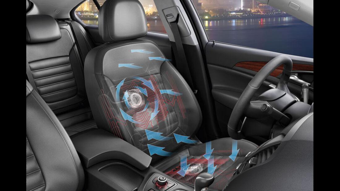 Opel Insignia Kaufberatung, Premium-Sitz
