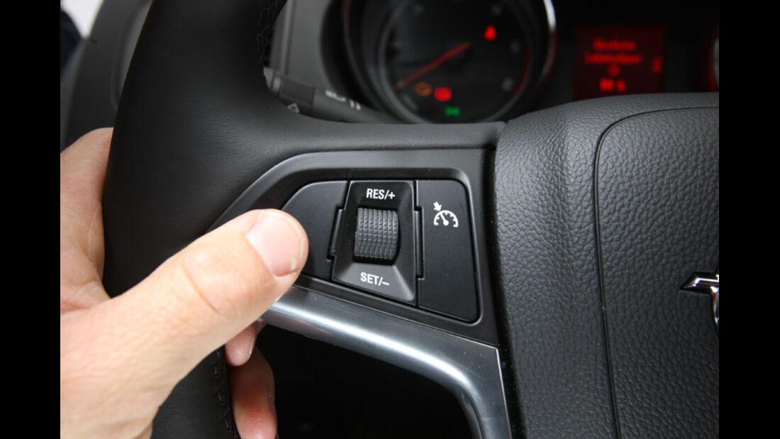 Opel Insignia Kaufberatung, Tempomat