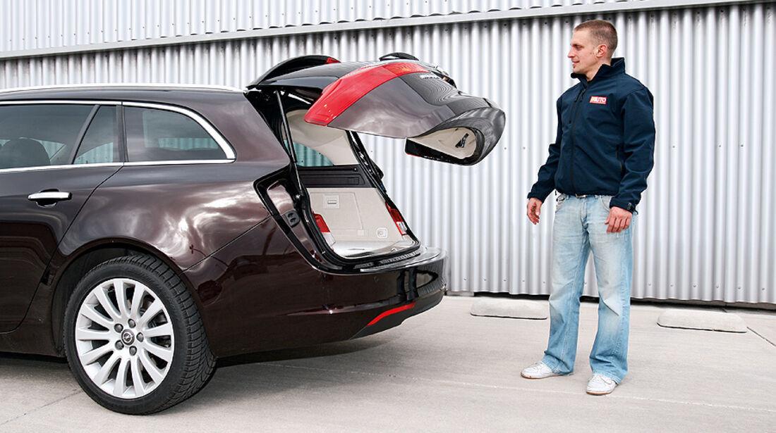 Opel Insignia, Kofferraum