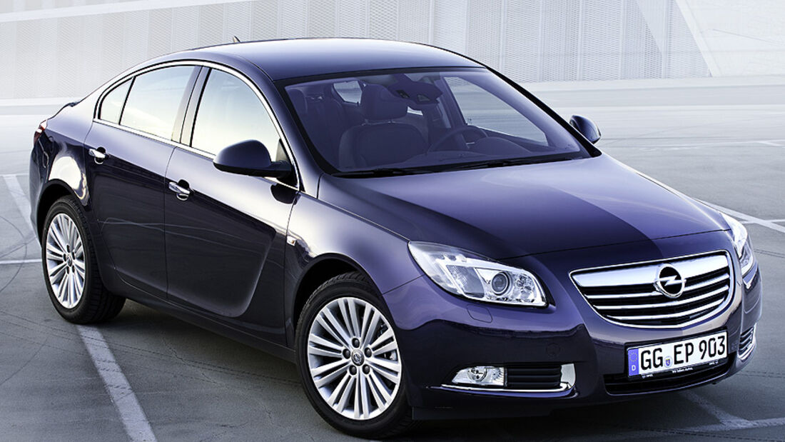 Opel Insignia Modelljahr 2012