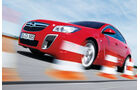 Opel Insignia OPC, Frontansicht, Slalom, Seitenansicht