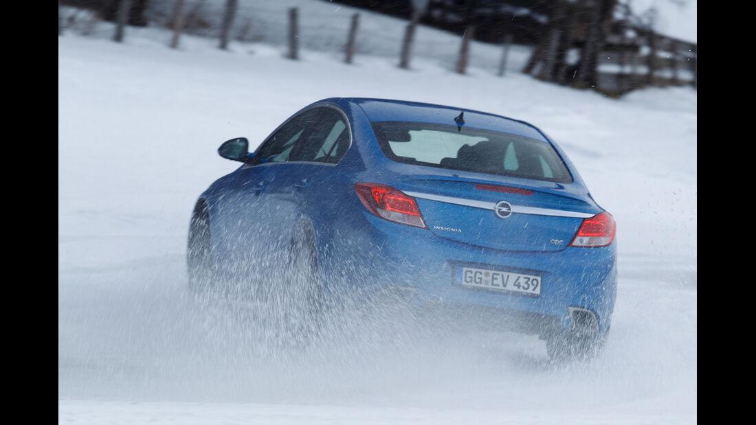 Opel Insignia OPC, Heckansicht