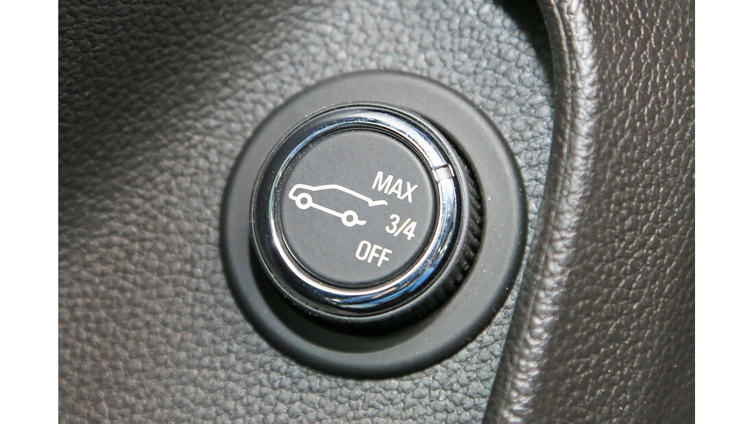 Opel Insignia OPC Sports Tourer Unlimited, Bedienelement