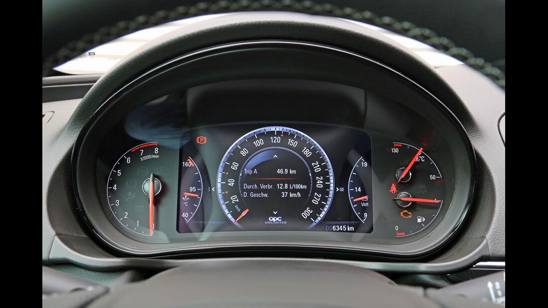 Opel Insignia OPC Sports Tourer Unlimited, Rundinstrumente