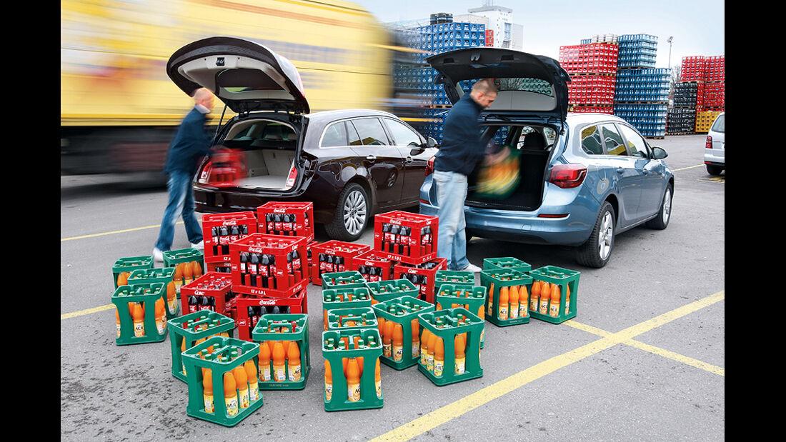 Opel Insignia, Opel Astra, Kofferraum