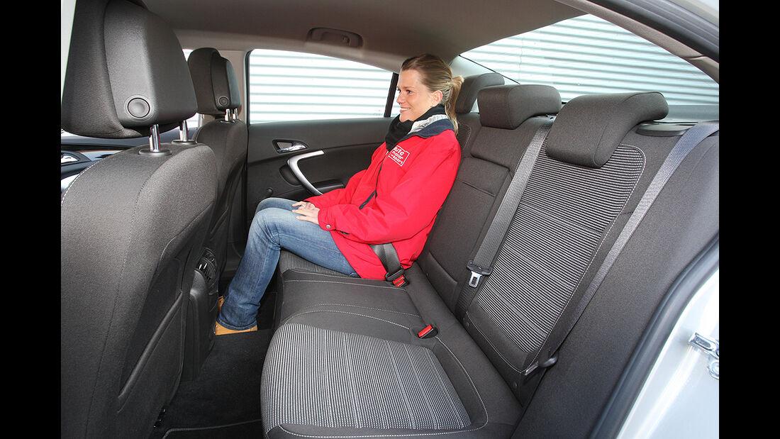 Opel Insignia, Rücksitze, Rückbank