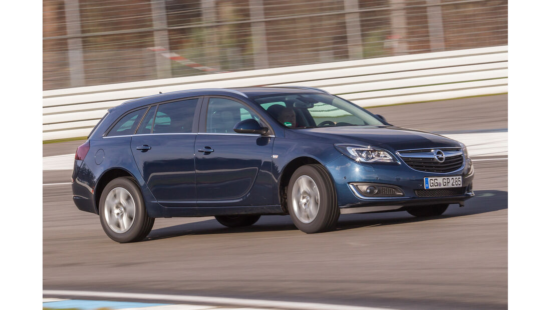 Opel Insignia ST 2.0 CDTI, Frontansicht
