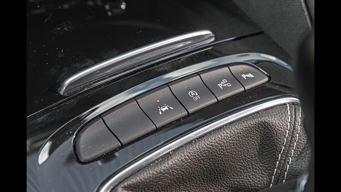 Opel Insignia ST, Mittelkonsole