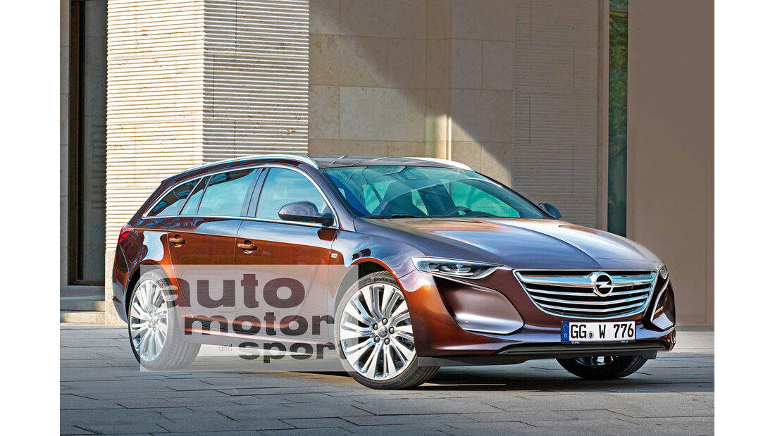 Opel Insignia, Seitenansicht