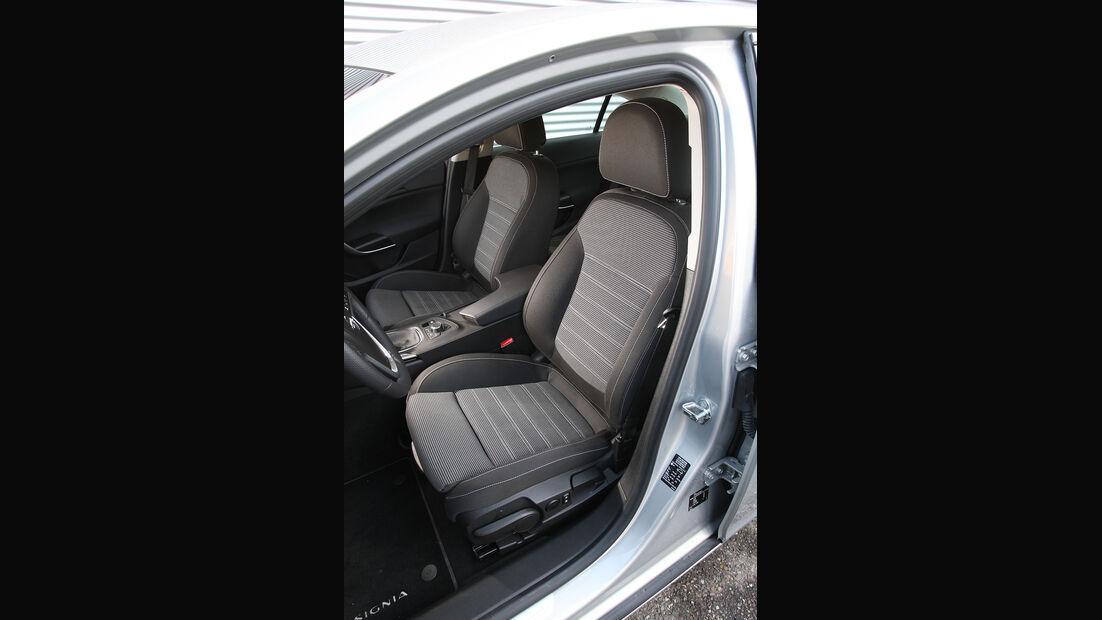 Opel Insignia, Sitze