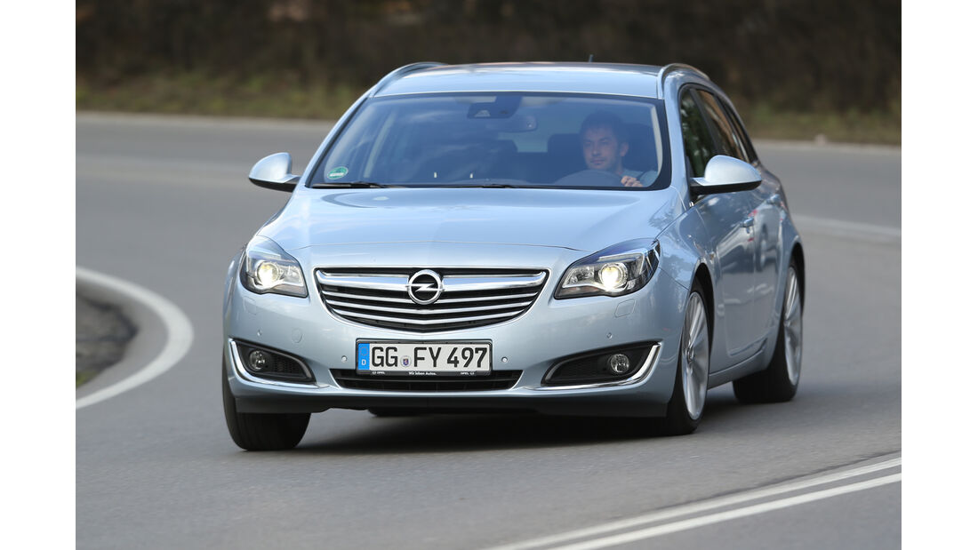 Opel Insignia Sports Tourer 2.0 BiT CDTi, Frontansicht