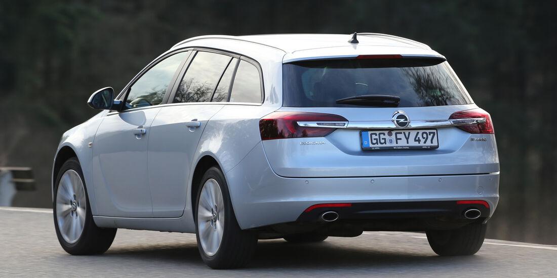 Opel Insignia Sports Tourer 2.0 BiT CDTi, Heckansicht